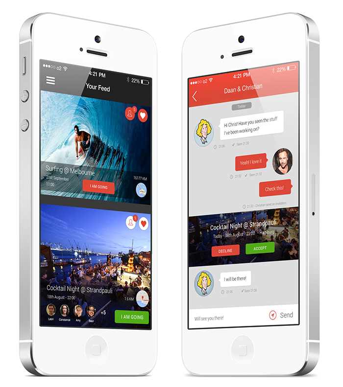 event-app-screens