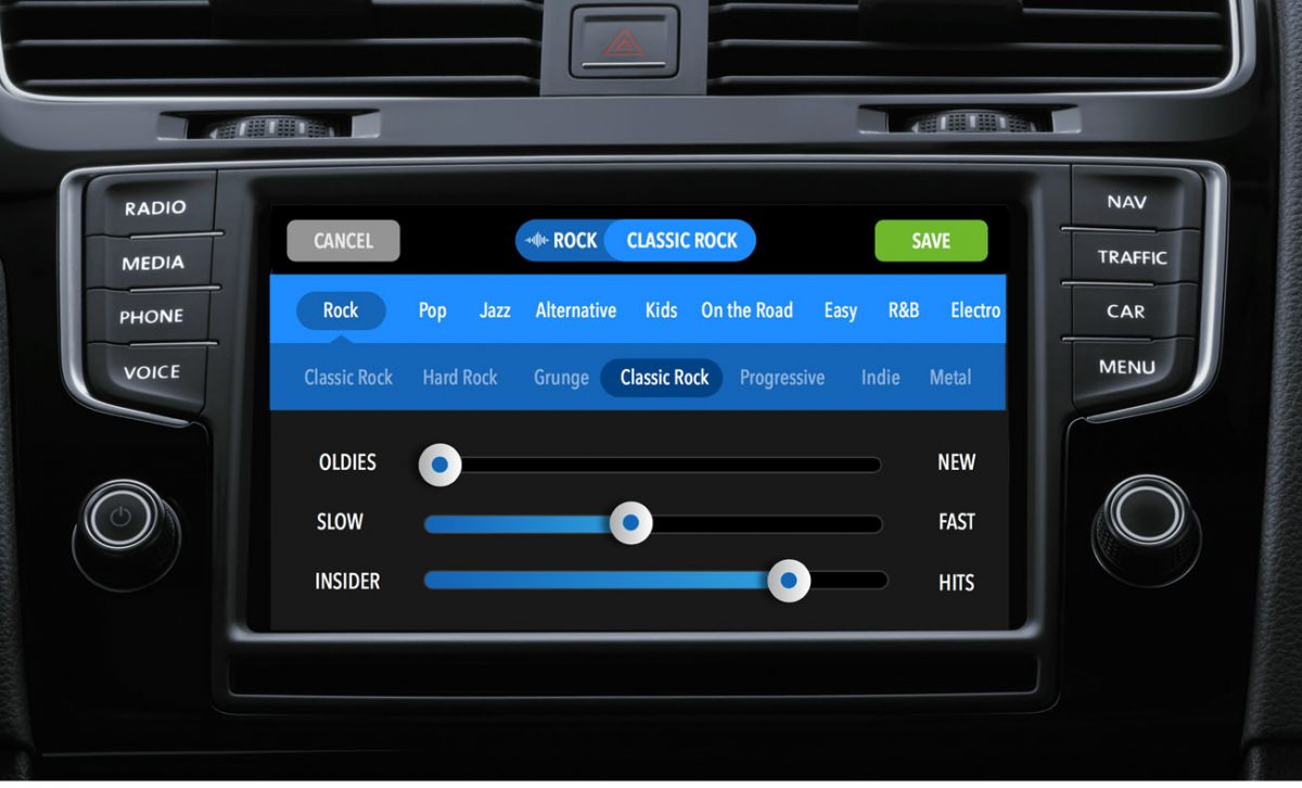 Radio Car App